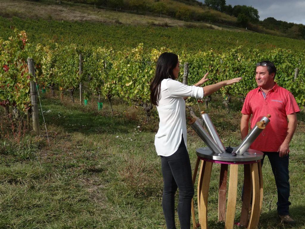 Parcours Olfactif et Atelier de la Vigne et du Vin 2