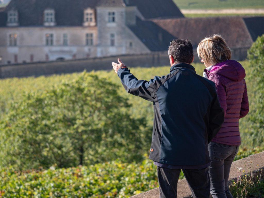 Visite de Vignoble- Vougeot Crédit Photo: Alexandre Bouhand